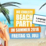 Beachparty Langegg 2018